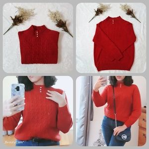 Rebecca malone Mock turtle neck sweater
